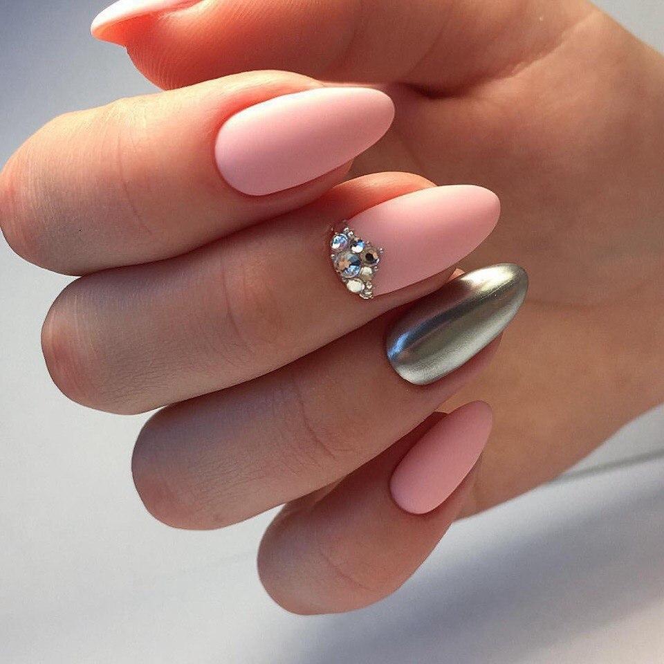 Маникюр с втиркой (зеркальные ногти): пошаговая инструкция ...