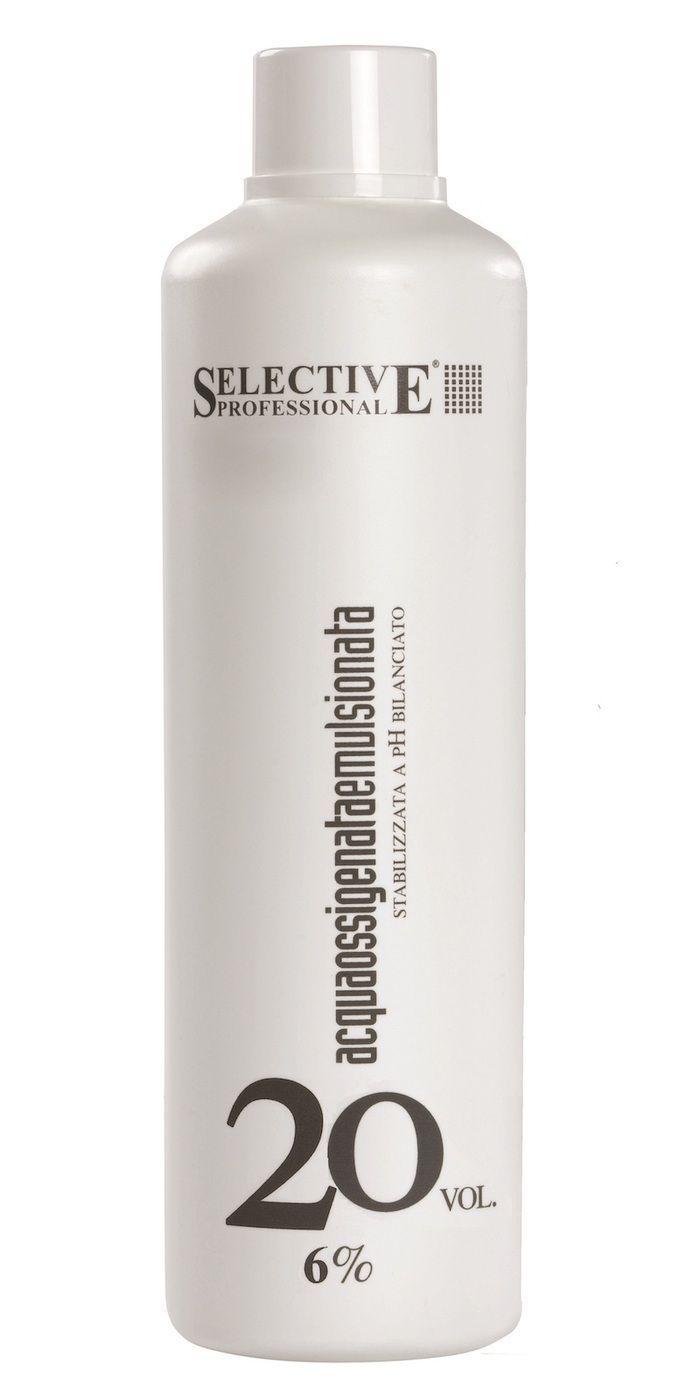 Selective - Оксигент 6% Для олигоминеральной крем-краски 1000 мл недорого