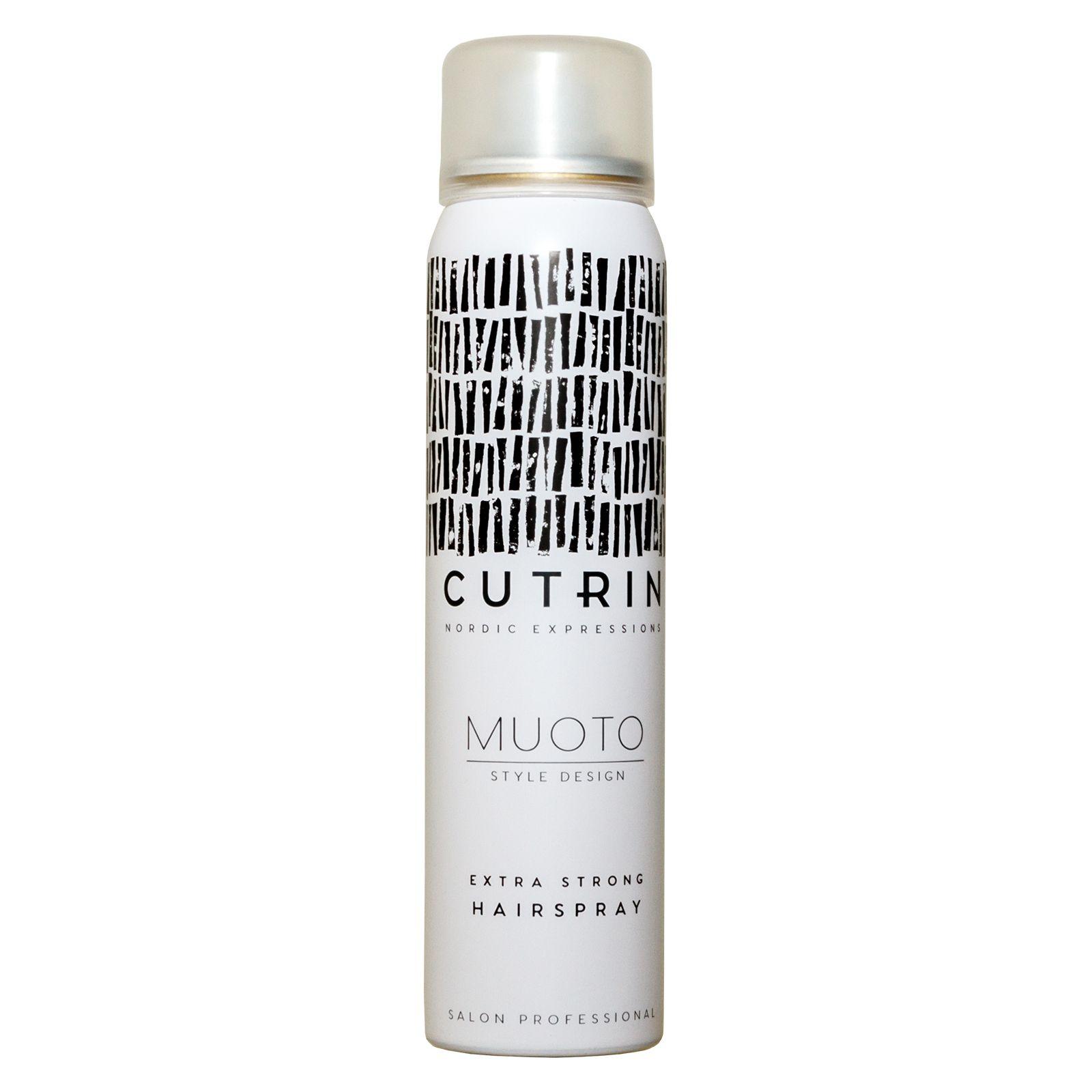 Cutrin Muoto Extra Strong Hairspray - Лак экстрасильной фиксации 100 мл