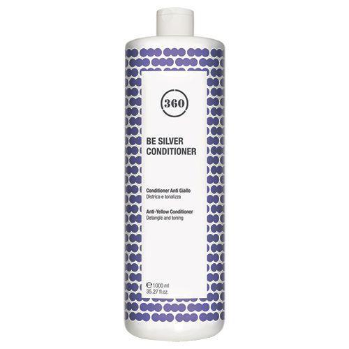 Фото - 360 Be Silver Conditioner - Антижелтый кондиционер для волос 1000 мл kaaral кондиционер для волос 360 be silver 1000 мл