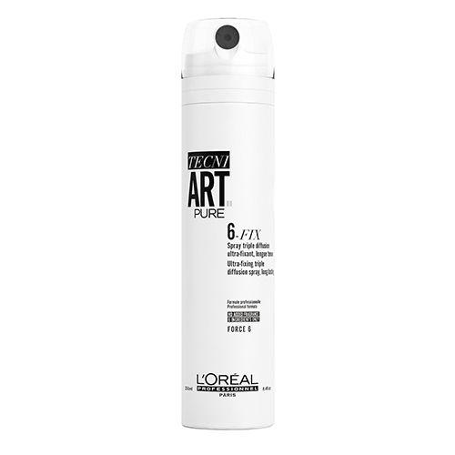 Фото - L'Oreal Professionnel Tecni. art 6-Fix Pure - Спрей для фиксации волос 250 мл l oreal professionnel tecni art 6 fix pure спрей для фиксации волос 250 мл