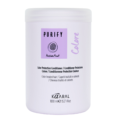 Фото - Kaaral Purify Colore Conditioner - Кондиционер для окрашенных волос 1000 мл kaaral кондиционер для волос 360 be silver 1000 мл