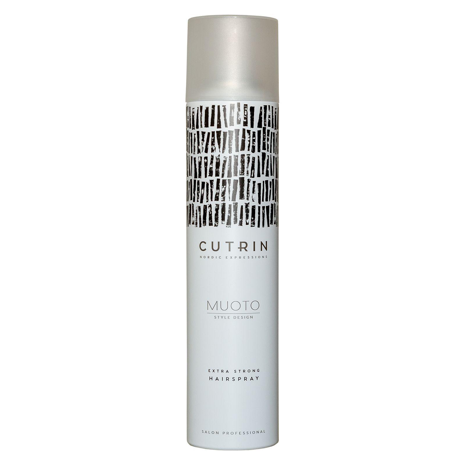 Cutrin Muoto Extra Strong Hairspray - Лак экстрасильной фиксации 300 мл