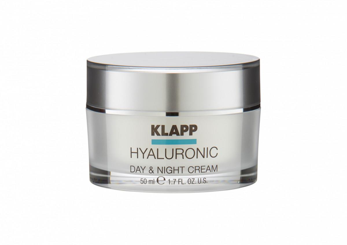 Klapp Hyaluronic Daу&Night Cream - Крем гиалуроник день-ночь 50 мл