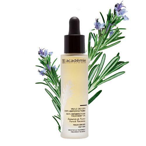 Academie Aromatherapie - Масло-уход для проблемной кожи Французский розмарин 30 мл academie масло уход aromatherapie увлажняющее овернская малина 30 мл