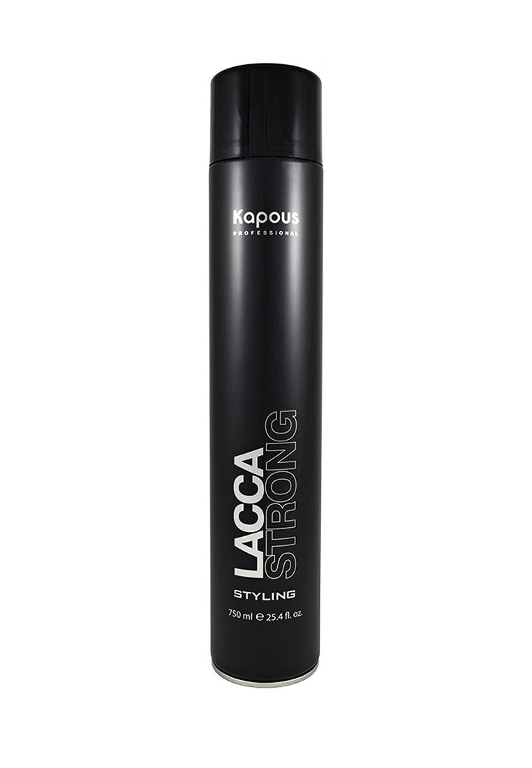 Kapous Professional Лак аэрозольный для волос сильной фиксации 750 мл kapous professional лак аэрозольный для волос сильной фиксации 750 мл