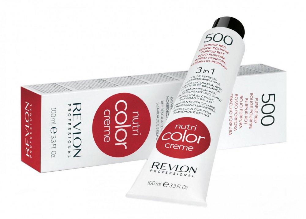 Revlon Professional Nutri Color Creme 500 Краска для волос пурпурно-красный 100 мл недорого