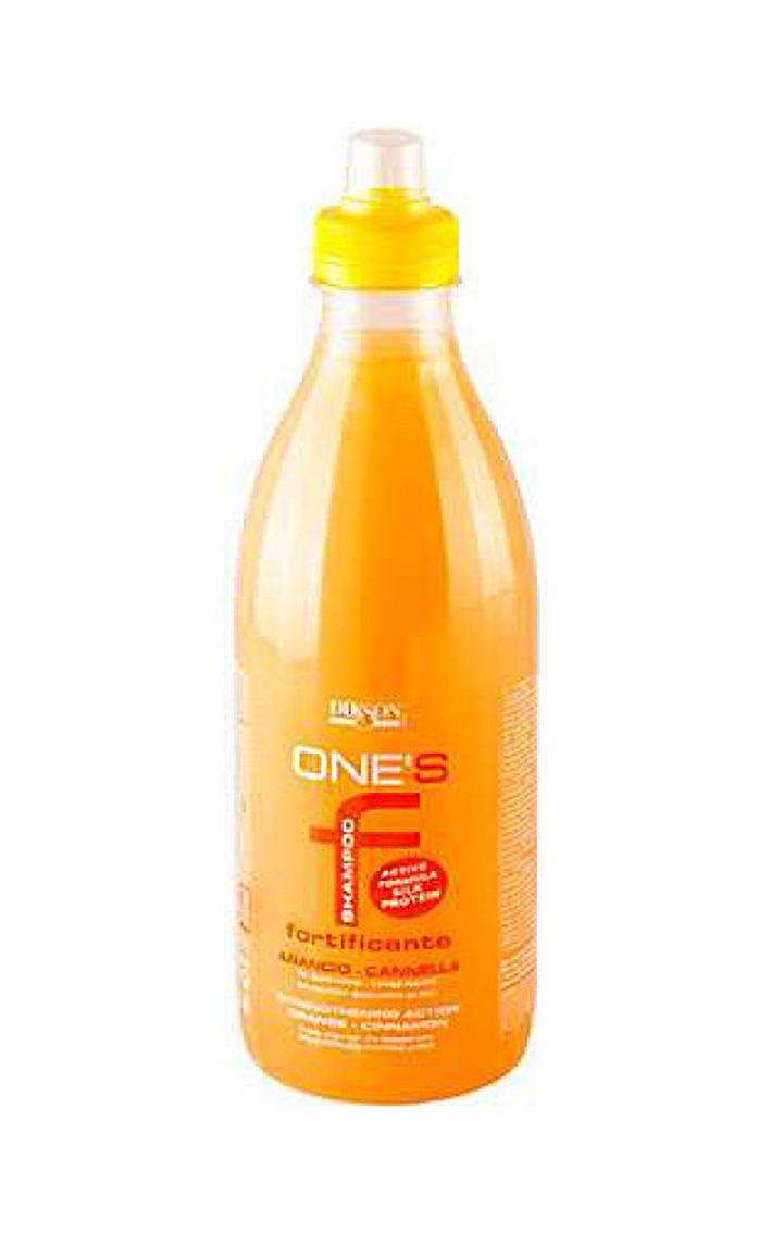 Dikson One's Shampoo Fortificante - Укрепляющий шампунь с протеинами риса. Апельсин-корица 1000 мл dikson шампунь one's shampoo fortificante укрепляющий с гидрализованными протеинами риса 1000 мл