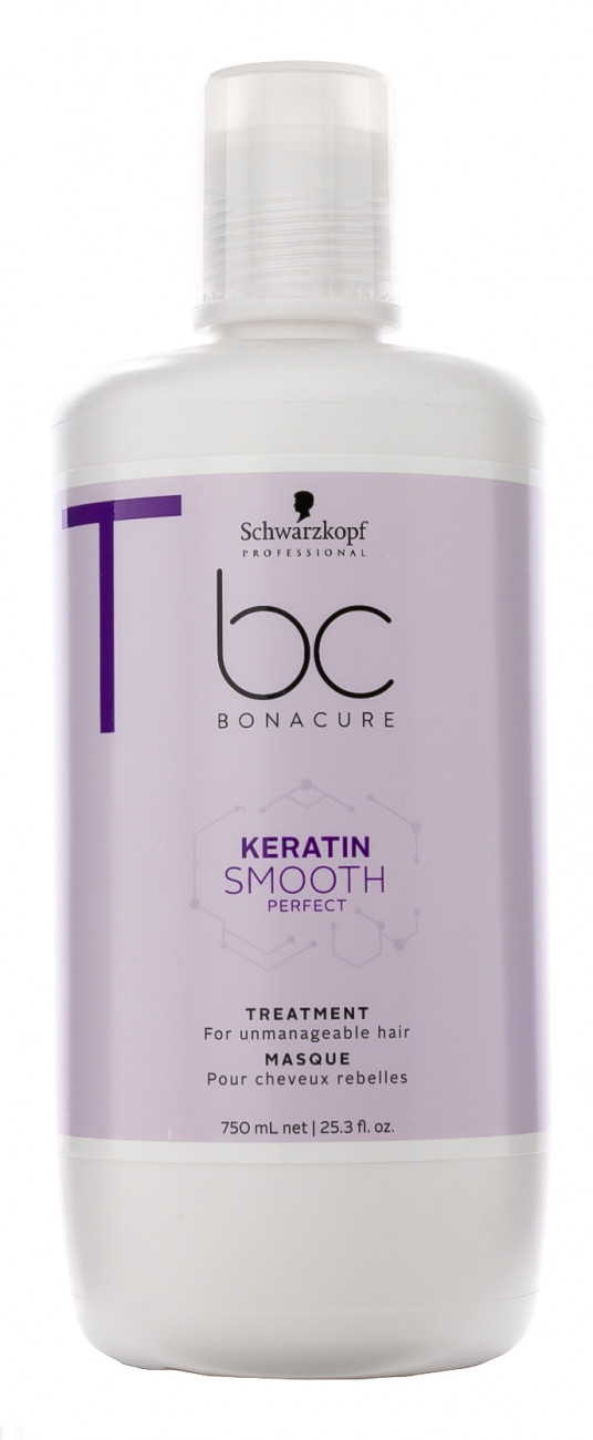 Schwarzkopf Professional BC Bonacure Keratin Smooth Perfect - Маска 750 мл купить по цене 2 510 руб.