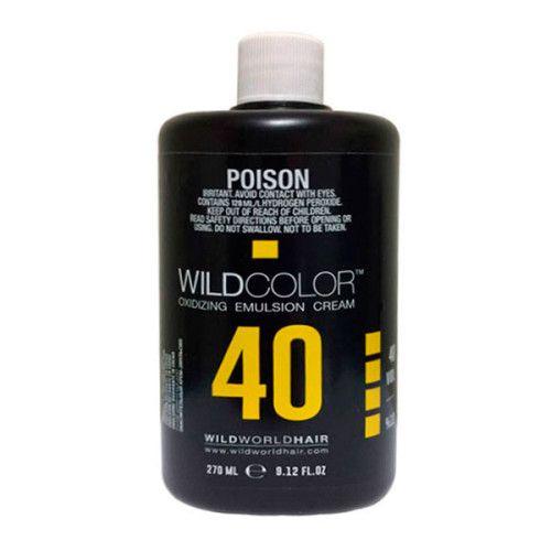 Wild Color Oxidizing Emulsion Cream OXI 12% 40 Vol. - Крем-эмульсия окисляющая для краски 270 мл wildcolor крем эмульсия окисляющая oxidizing emulsion cream 9% 270 мл