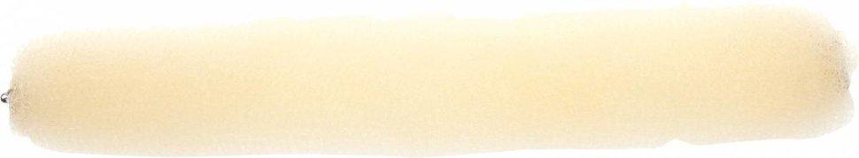 Dewal - Валик для прически, губка с кнопкой, блондин 25 см недорого