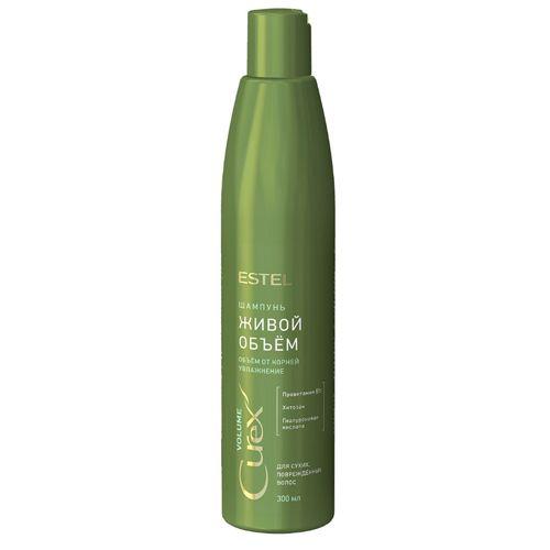 Estel Professional Curex Volume - Шампунь Живой объём для сухих, повреждённых волос 300 мл