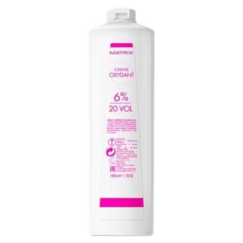 Matrix SoСolor.Beauty - Крем-Оксидант 20vol-6% 1000 мл matrix socolor beauty крем оксидант 30 vol 9% 1000 мл