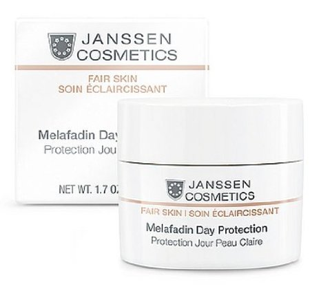 Janssen Cosmetics White Secrets Lightening Day Protection - Осветляющий дневной крем (SPF-20) 50 мл