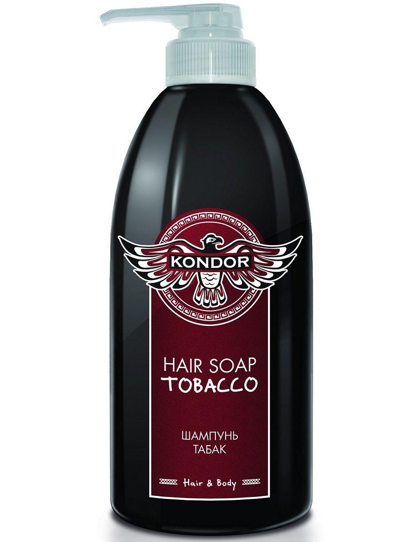 Kondor Hair&Body - Шампунь табак 750 мл kondor шампунь hair soap tobacco табак 750 мл