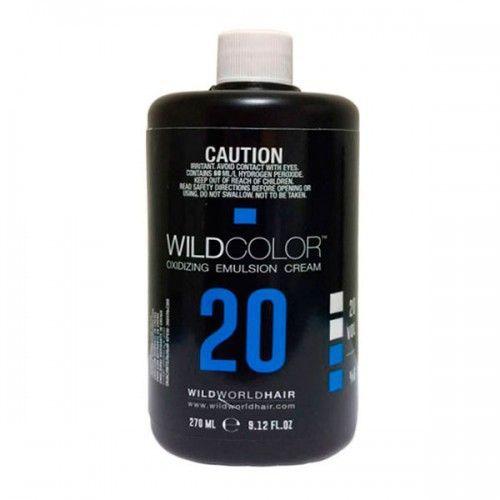 Wild Color Oxidizing Emulsion Cream OXI 6% 20 Vol. - Крем-эмульсия окисляющая для краски 270 мл wildcolor крем эмульсия окисляющая oxidizing emulsion cream 9% 270 мл