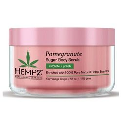 Hempz Sugar and Pomegranate Body Scrub - Скраб для тела сахар и гранат 176 г