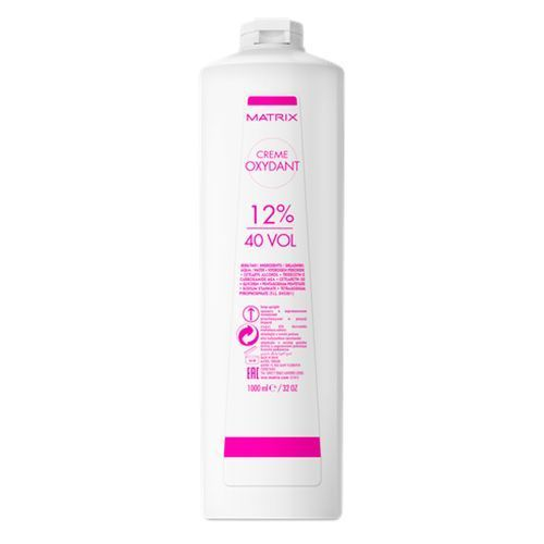 Matrix SoСolor.Beauty - Крем-Оксидант 40vol-12% 1000 мл matrix socolor beauty крем оксидант 30 vol 9% 1000 мл