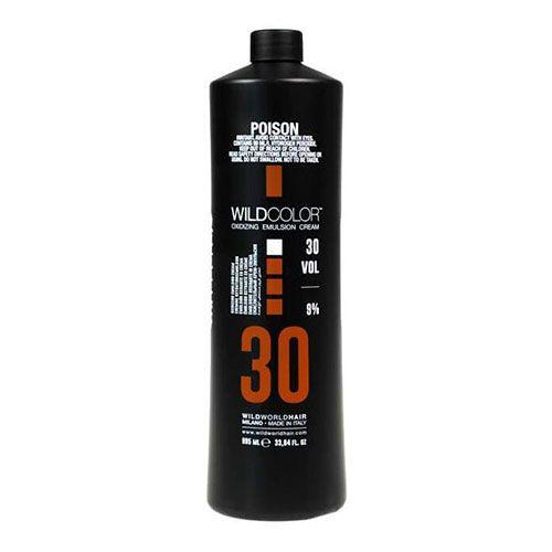 Wild Color Oxidizing Emulsion Cream OXI 9% 30 Vol. - Крем-эмульсия окисляющая для краски 995 мл wildcolor крем эмульсия окисляющая oxidizing emulsion cream 9% 270 мл