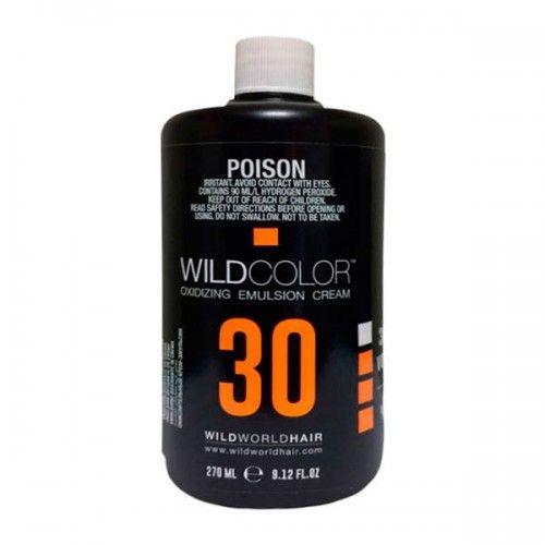 Wild Color Oxidizing Emulsion Cream OXI 9% 30 Vol. - Крем-эмульсия окисляющая для краски 270 мл wildcolor крем эмульсия окисляющая oxidizing emulsion cream 9% 270 мл