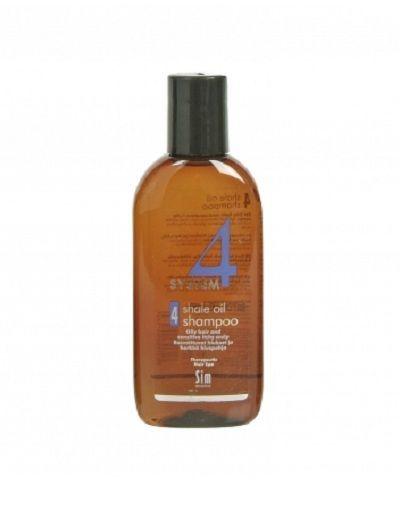 Фото - Sim Sensitive System 4 Therapeutic Climbazole Shampoo 4 - Терапевтический шампунь № 4 для очень жирной, чувствительной и раздраженной кожи головы 100 мл sim sensitive system 4 mild climbazole shampoo 3 терапевтический шампунь 3 для чувствительной кожи головы 100 мл