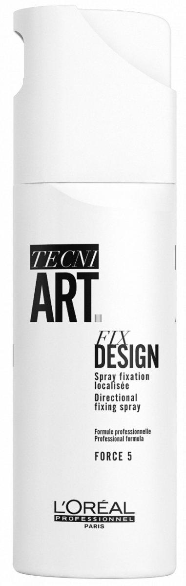 Фото - L'Oreal Professionnel Tecni. art Fix / Фикс Дизайн - Спрей для локальной фиксации (фикс.5) 200 мл l oreal professionnel tecni art 6 fix pure спрей для фиксации волос 250 мл