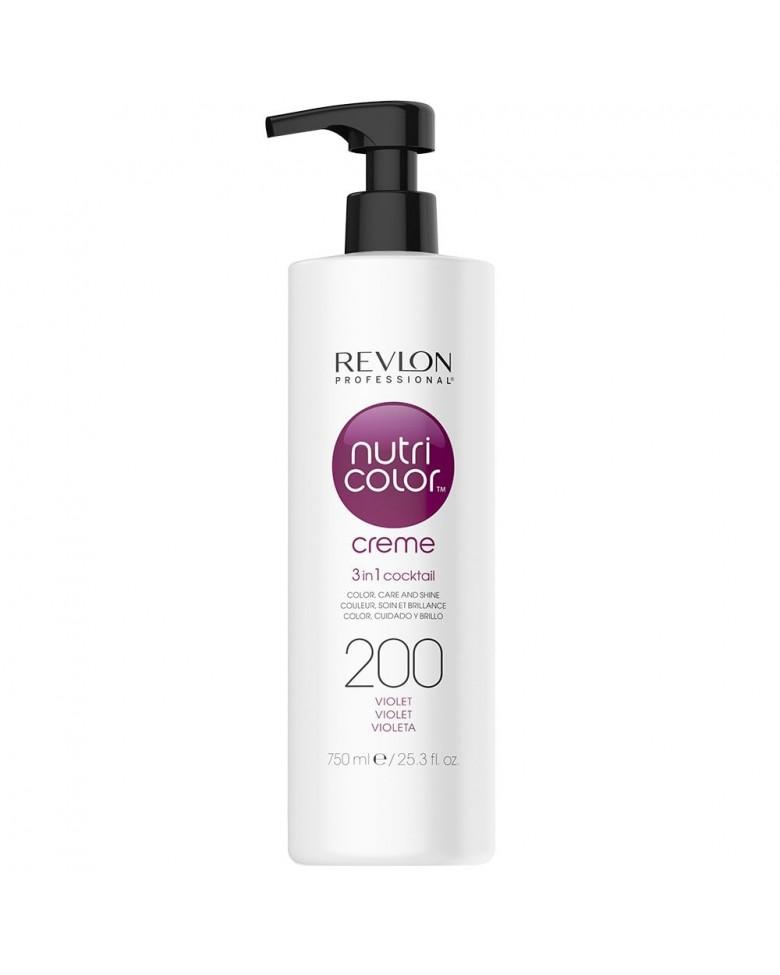 Revlon Professional Nutri Color Creme 200 - Крем-краска Фиолетовый 750 мл недорого