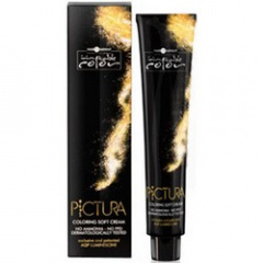 Hair Company Professional Inimitable Pictura Coloring Soft Cream - Крем-краска 4.13 Каштановый ледяной 100 мл