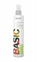 Ollin Professional Basic Line Hair Active Spray - Актив-спрей для волос 250 мл