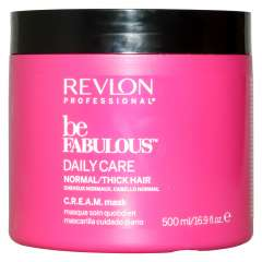 Revlon Professional Be Fabulous C.R.E.A.M. Mask For Normal Thick Hair - Маска для нормальных/густых волос 500 мл