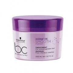 Schwarzkopf Professional BC Bonacure Keratin Smooth Perfect - Маска 200 мл купить по цене 1 158 руб.