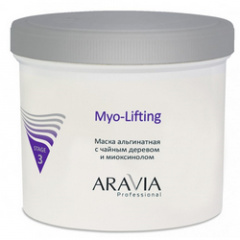 Aravia Professional Myo-Lifting - Маска альгинатная с чайным деревом и миоксинолом 550 мл Aravia Professional (Россия) купить по цене 1 286 руб.