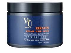 Von-U Keratin Repair Hair Mask - Маска-реконструктор с кератином 480 мл