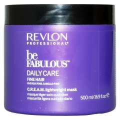 Revlon Professional Be Fabulous C.R.E.A.M. Mask For Fine Hair - Маска для тонких волос 500 мл