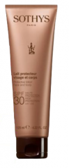 Sothys Protective Lotion Face And Body SPF30 High Protection UVA/UVB - Эмульсия с SPF30 для лица и тела 125 мл купить по цене 3 550 руб.
