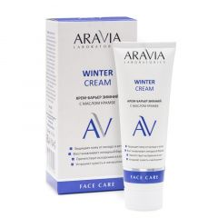 Aravia Professional Laboratories  Winter Cream - Крем-барьер зимний c маслом крамбе 50 мл Aravia Professional (Россия) купить по цене 548 руб.